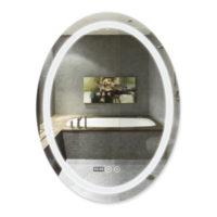 Зеркало с антизапотеванием 600*800 QT Mideya LED DC-F801 28558Q-TAP