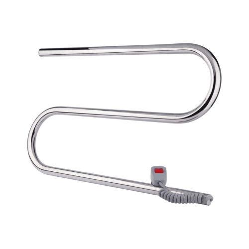 Эл. полотенцесушитель правое подкл. Qtap Snake (CRM) 600×330 RE 29276Qtap (Чехия)