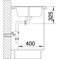 Кухонная мойка Blanco Tipo 45 S 511942