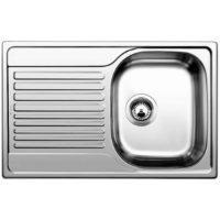 Кухонная мойка Blanco Tipo 45 S Compact матовая 513441