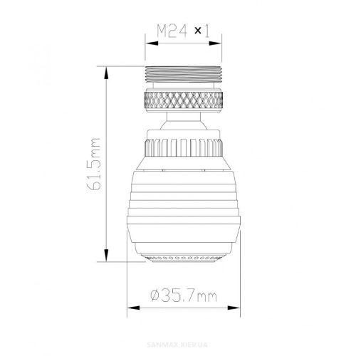 Аэратор для смесителя Formix FMBR0081