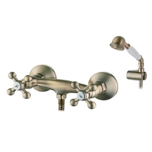 Смеситель для душ. кабины IBERGRIF LUCCA M12052C (цв. бронза) IB0058