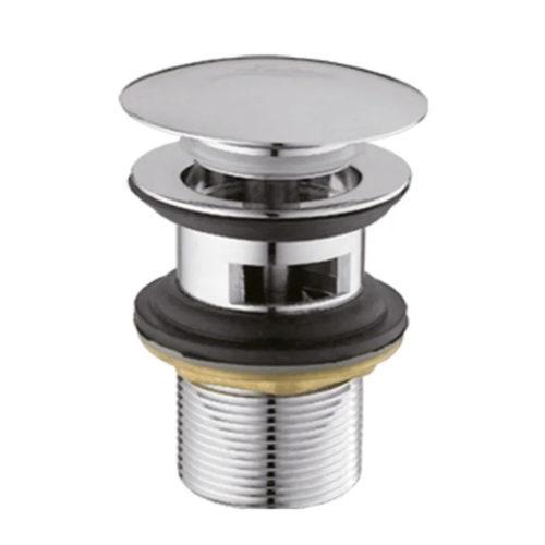 Донный клапан с переливом (кнопка) IBERGRIF M20502 IB0087