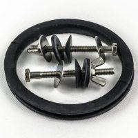 Roca AV0008000R ROCA уплотнительная резинка и крепежные болты для монтажа керамических бачков