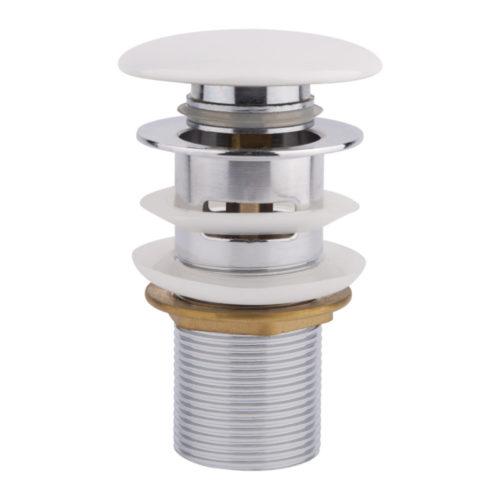 Донный клапан с системой Pop-up с переливом Qtap WHI F008-1 29340Qtap (Чехия)