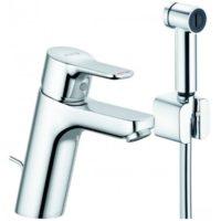 Смеситель для раковины с гигиеническим душем Kludi Pure&Easy 372590565