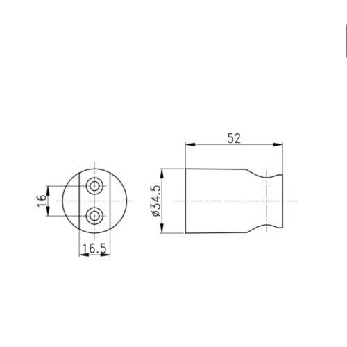Кронштейн для ручной лейки Qtap CRM A030 29616Qtap (Чехия)