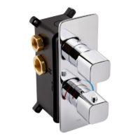 Смеситель термостатический скрытого монтажа для душа Qtap Votice 65T105NGC SD00041876