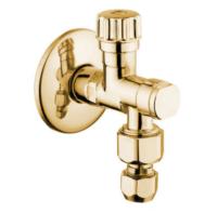 Запорный кран (золото) Bugnatese RICDO19251