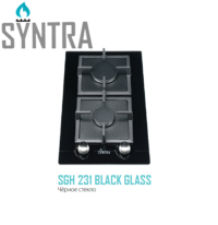 Газовая панель SGH 231 Black Glass Fabiano 7111.406.0561