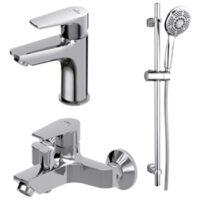 Комплект смесителей для ванной комнаты Cersanit 3в1 B246