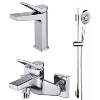 Комплект смесителей для ванной комнаты Cersanit 3в1 B247
