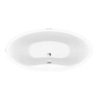 Ванна акриловая KOLLER POOL Design Plus 194х100