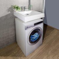 Раковина над стиральной машиной FANCY MARBLE Lily 600 6307101