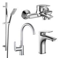 Imprese 51003055 PL набор смесителей (4 в 1) для ванны и кухни
