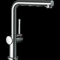 Hansgrohe 72840000 TALIS M54 смеситель для кухни, однорычажный, 270, 1jet, хром