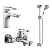 Rozzy Jenori RBZZ003-1-3-0411 KINK набор смесителей для ванны (RBZZ003-1-3-0411)