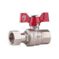 Кран шаровой с накидной гайкой SD Forte 1/2″х ВР для воды прямой SD00021092