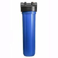 Фильтр-колба пласт.,2 упл. кольца, БЕЗ картриджа 124-20-BB Big Blue 20″, 1″