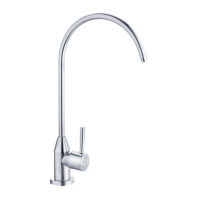 Кран PERLA OCELI для питьевой воды нержавейка PSS502