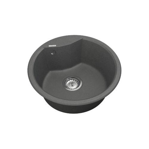 Кухонная мойка VANKOR Vena VMR 01.48 Gray + сифон VANKOR