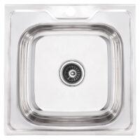 Мойка кухонная ZERIX Z5050-06-160P (polish) (ZS0580)