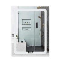 Зеркало Qtap (Чехия) Mideya LED DC-F937 с антизапотеванием 600х800