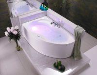 MISTRAL ванна 170*105 левая + ножки