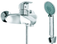 Смеситель «БЛИЦ» ванна хром с/акс SLBN2035z SILVER