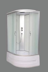 Гидромассажный бокс AquaStream GLS 120 White левосторонний