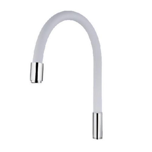 Излив силиконовый Premium White Mixxus MI0557