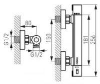Рукоятка для термостата Ferro TRM7 204742