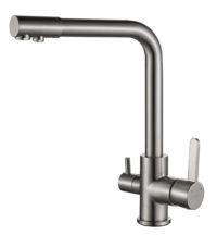 Смеситель для кухни под осмос Globus Lux GLLR-0444-8-STSTEEL