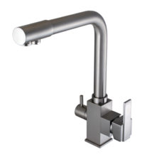 Смеситель для кухни под осмос Globus Lux GLLR-0100-8-STSTEEL