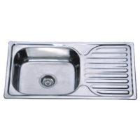 Мойка кухонная Satin Z7642-08-180E Zerix ZX1602