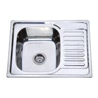 Мойка кухонная ZERIX Z6350-06-160D (decor) (ZM0562)