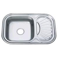 Мойка кухонная Decor Z7549-08-180D Zerix ZX1607