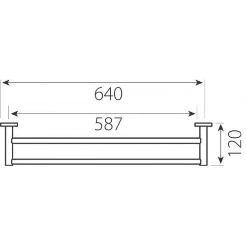Вішалка для рушників FERRO 204705