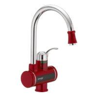Проточный водонагреватель с индикатором температуры Electra 240-E Red Mixxus MI2748