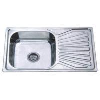 Мойка кухонная satin Z7848-08-180E Zerix ZX1604