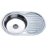 Мойка кухонная satin Z7750-08-180E Zerix ZX1596