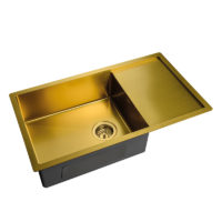 Мойка MX7844-200-x1.2-PVD-Gold Mixxus MX0563
