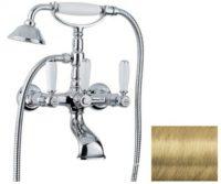 Смеситель для ванны (золото) Revival Bugnatese REVDO400U kristal