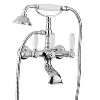 Смеситель для ванны (хром) Revival Bugnatese REVCR400U kristal