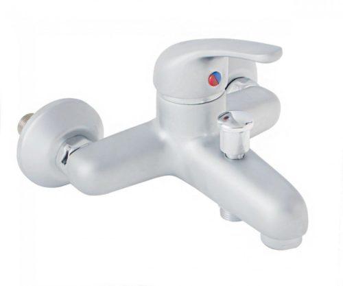 Смеситель для ванны и душа Сатин Нефрит Kfa Armatura 504-010-04