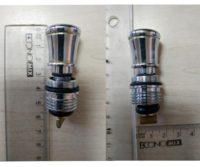Переключатель-клапан душ/ванна, Яспир/Барит Kfa Armatura 823-129-00