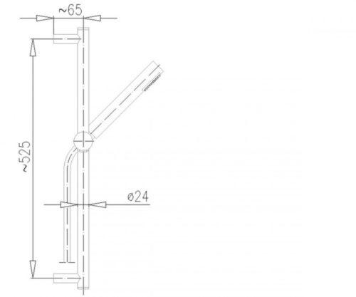 Душевой набор Ирис Kfa Armatura 841-150-00