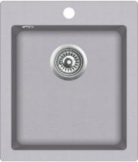 Гранитная мойка AquaSanita SQS100W 221 Light grey