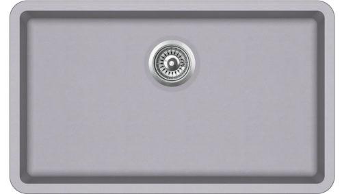 Гранитная мойка AquaSanita SQA104W 221 Light grey