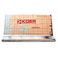 Пленка теплоотражающая металлизированная с разметкой KOER (рулон 50 м) (KR2868)